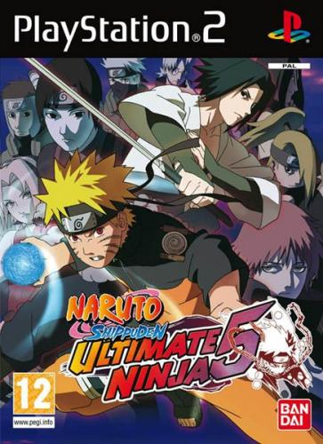 Naruto Shippuuden: Ultimate Ninja 5 (2009/RUS-ENG/PS2)