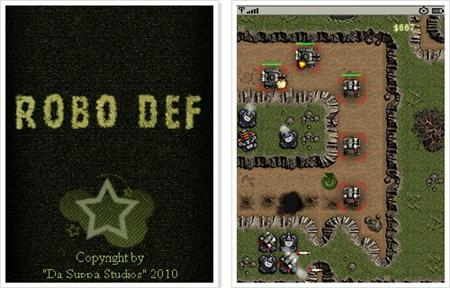 Завантажити RoboDef - Рободеф (JAVA)